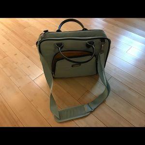 Baggalini computer briefcase